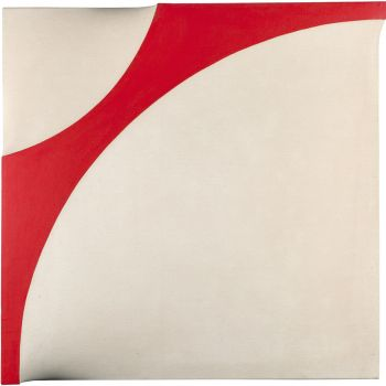 Michaeledes Untitled red white structure  1